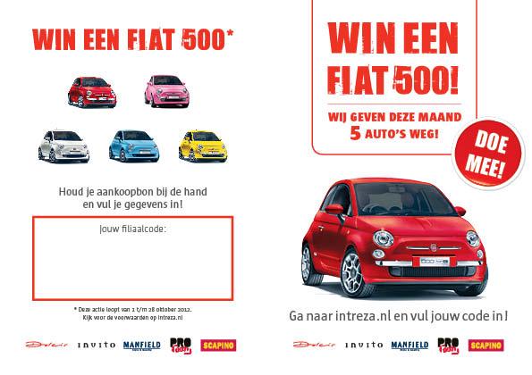 Fiat-flyer Voor en Achterzijde